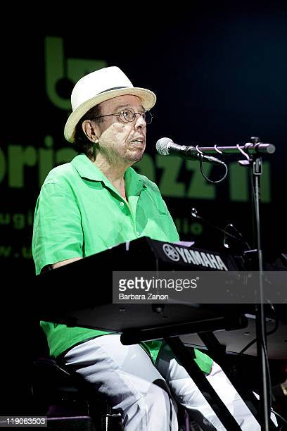 Sergio Mendes performs on stage at Arena Santa Giuliana during Umbria Jazz Festival on July 14 2011 in Perugia Italy