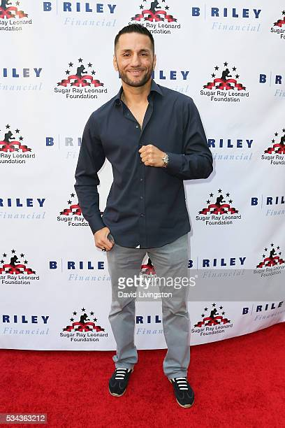 Sergio Mora arrives at the 7th Annual Big Fighters, Big Cause Charity Boxing Night Benefiting The Sugar Ray Leonard Foundation at The Ray Dolby...