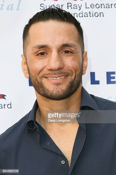 Sergio Mora arrives at the 7th Annual Big Fighters Big Cause Charity Boxing Night Benefiting The Sugar Ray Leonard Foundation at The Ray Dolby...