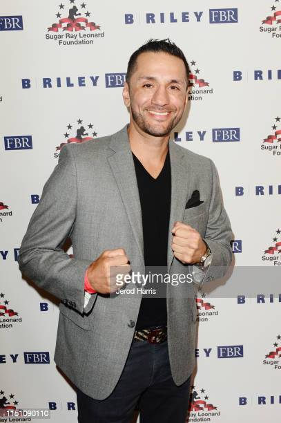 Sergio Mora attends Sugar Ray Leonard Foundation's 10th Annual 'Big Fighters, Big Cause' Charity Boxing Night Presented by B. Riley FBR at The...