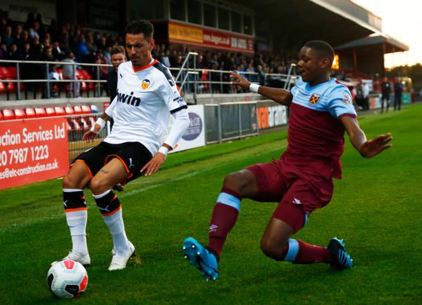 West Ham United v Valencia B - Premier League International Cup