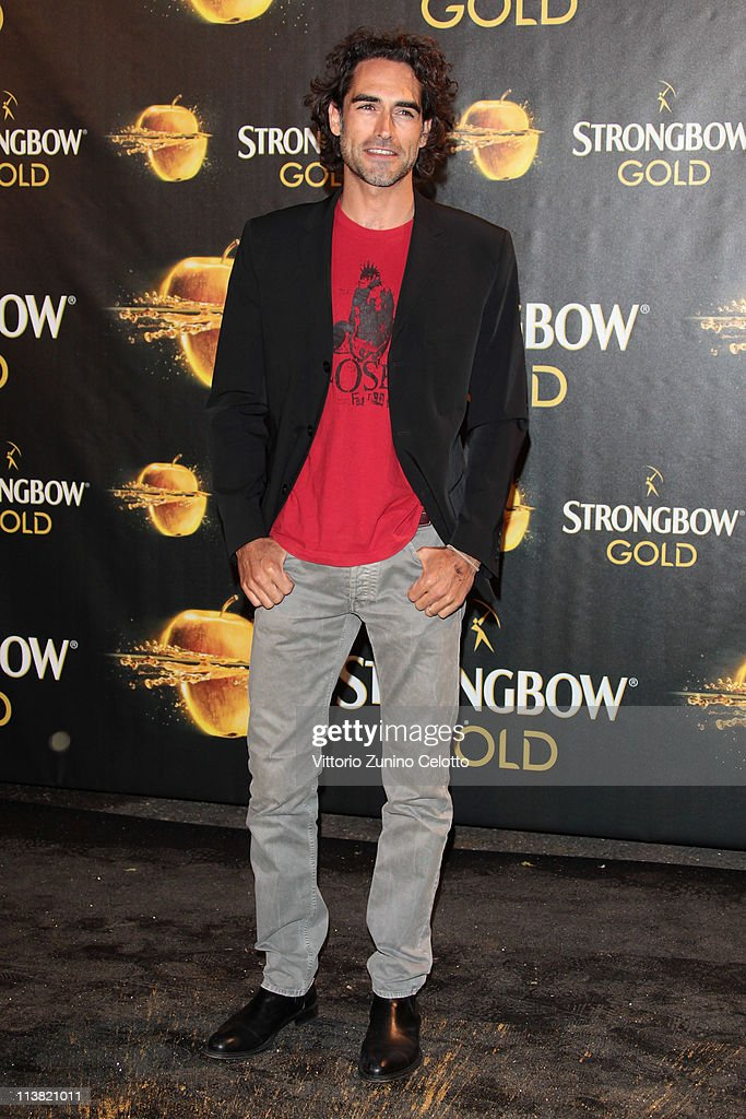 Sergio Muniz attends 'The Gold Experience' red carpet on May 6, 2011 in Milan, Italy.