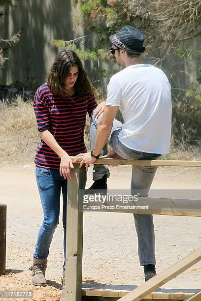 Sergio Mur and Olivia Molina are sighted on June 24 2011 in Ibiza Spain
