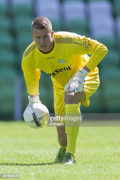 Sergio Padt of FC Groningen during the team presentation of Fc Groningen on June 30 2014 at the Euroborg in Groningen The Netherlands