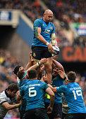 edinburgh scotland sergio parisse italy wins