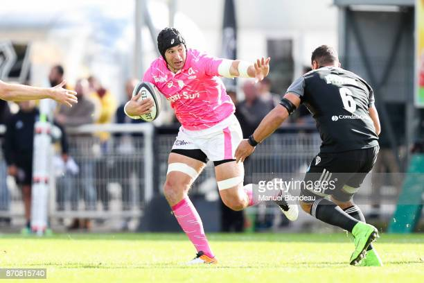 Sergio Parisse of Stade Francais during the French Top 14 match between Brive and Stade Francais on November 5 2017 in Brive France