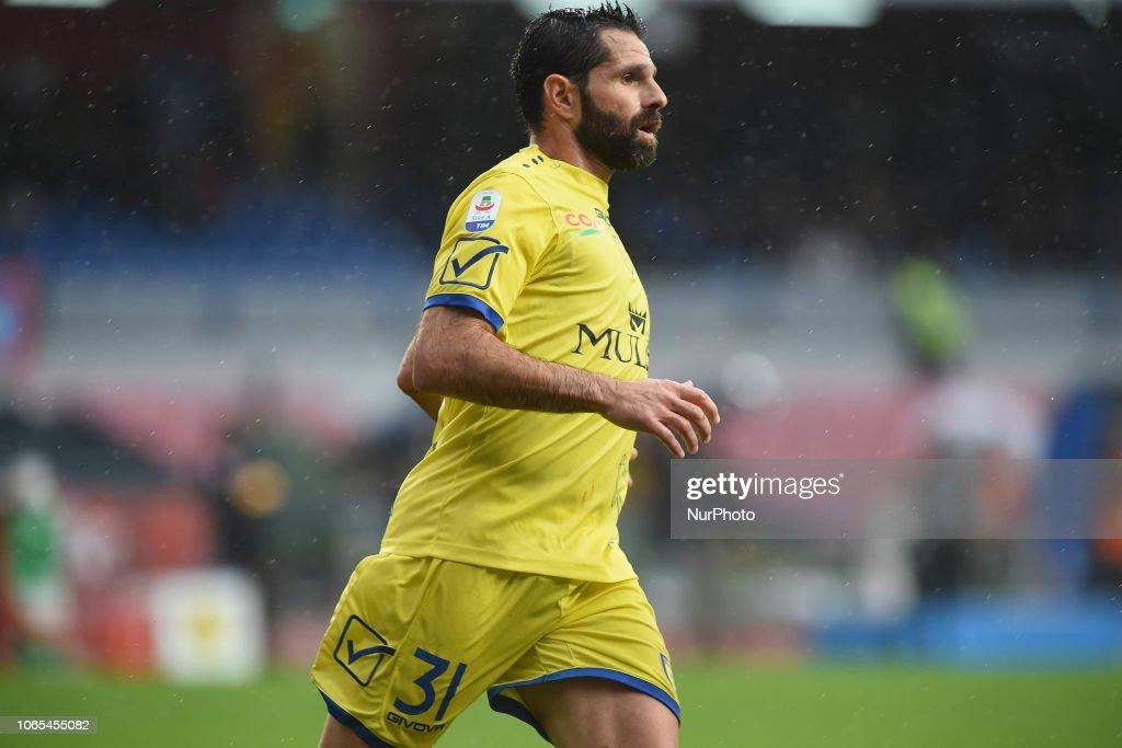 SSC Napoli v Chievo Verona - Serie A : ニュース写真