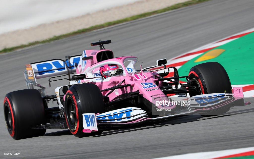 F1 Winter Testing in Barcelona - Day Three : News Photo
