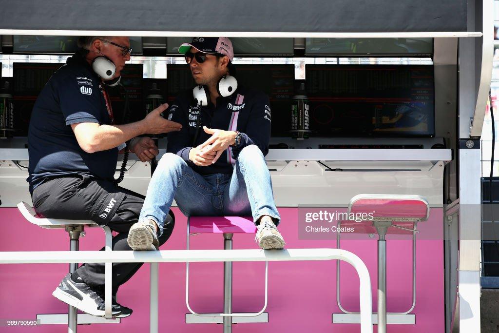 Canadian F1 Grand Prix - Practice : News Photo