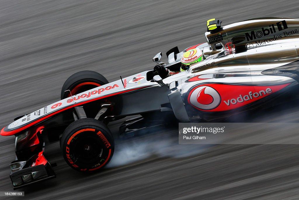 F1 Grand Prix of Malaysia - Practice : News Photo