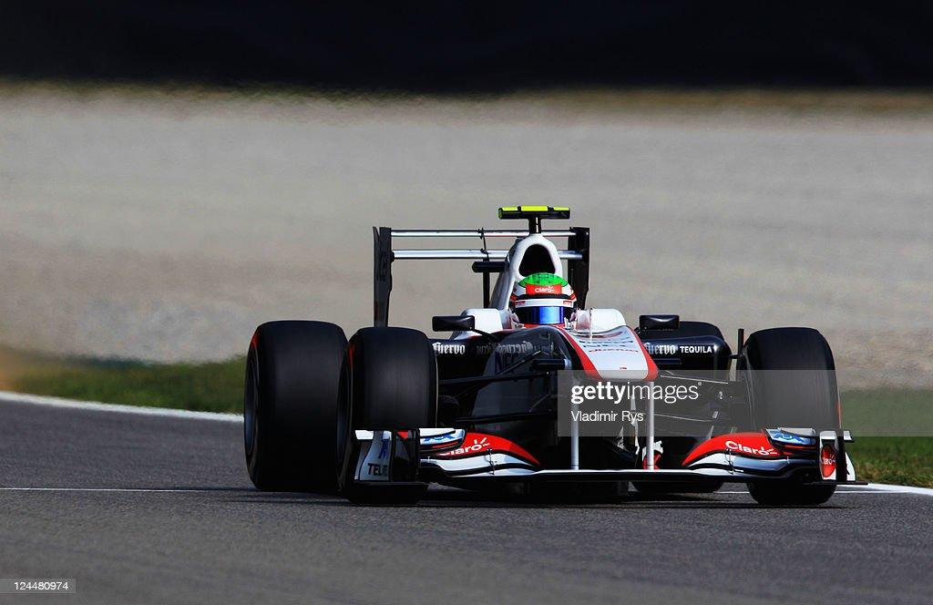 F1 Grand Prix of Italy - Qualifying : News Photo
