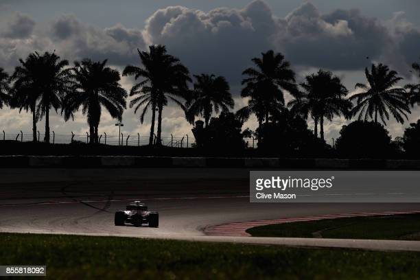 Sergio Perez of Mexico driving the Sahara Force India F1 Team VJM10 on track during qualifying for the Malaysia Formula One Grand Prix at Sepang...
