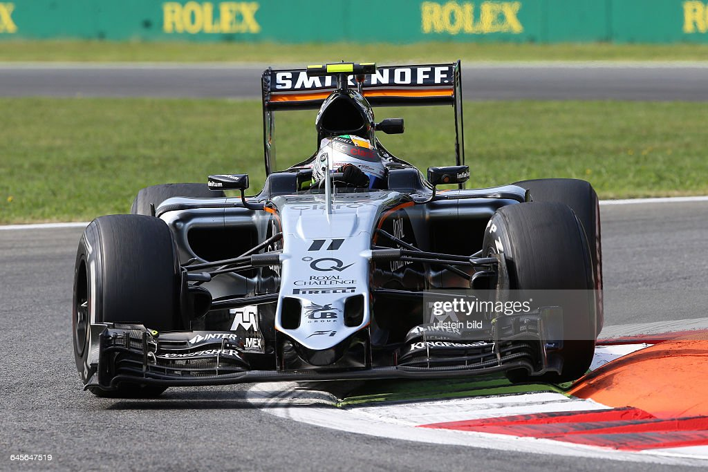 Sergio Perez, formula 1 GP, Italien : News Photo