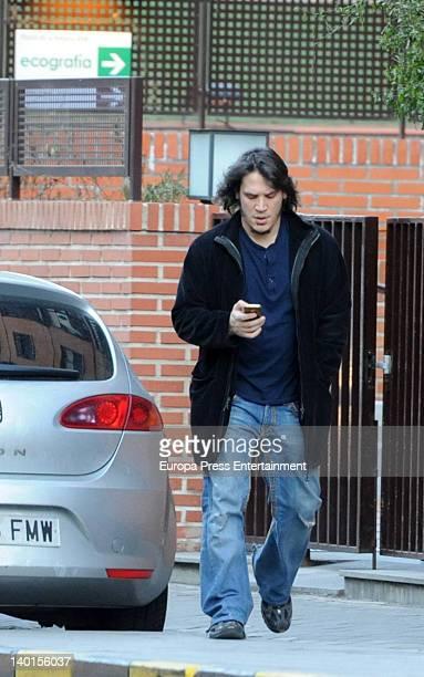 Sergio Peris Mencheta is seen on February 9 in Madrid Spain