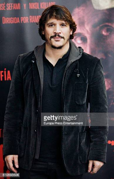 Sergio PerisMencheta attends 'El Mal Que Hacen Los Hombres' photocall on February 15 2016 in Madrid Spain