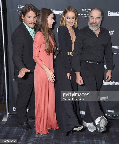 Sergio PerisMencheta Laia Costa Olivia Wilde and Mandy Patinkin attend Entertainment Weekly's Must List Party at the Toronto International Film...
