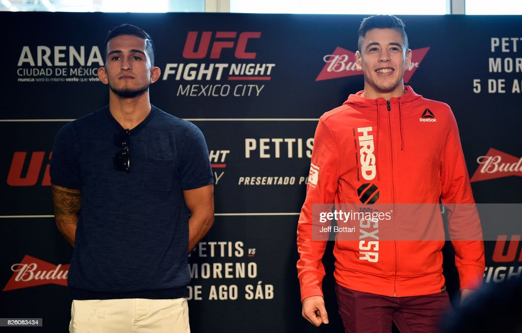 UFC Fight Night: Ultimate Media Day : News Photo