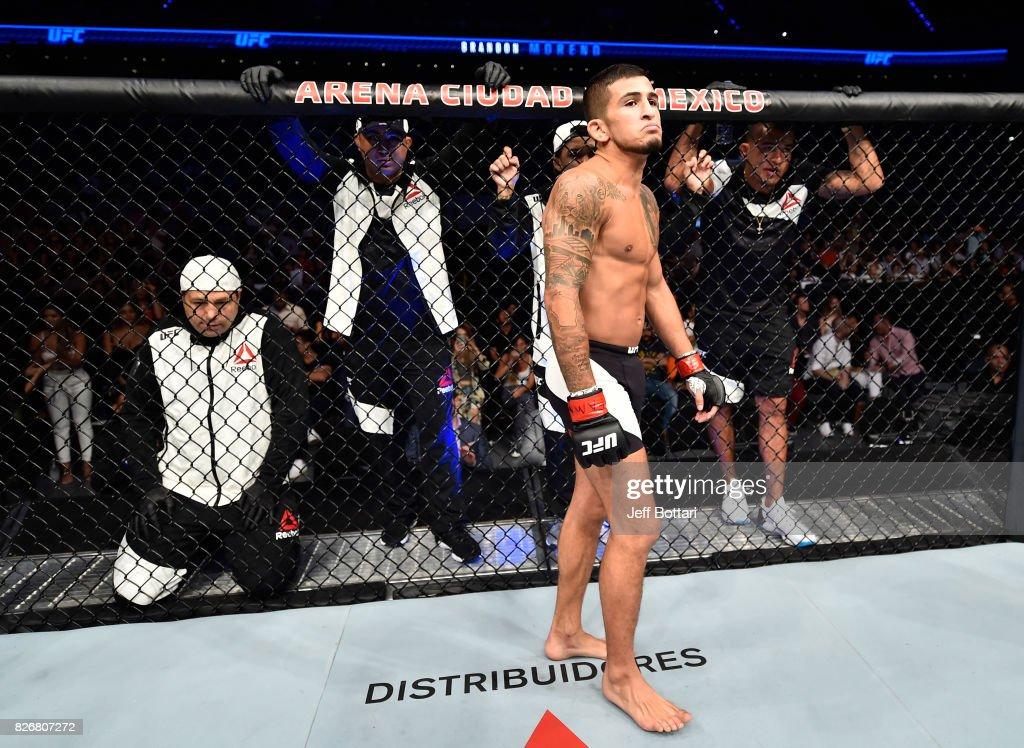 UFC Fight Night: Pettis v Moreno : News Photo