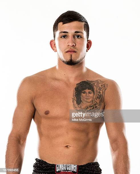 Sergio Pettis poses for a portrait on October 27, 2013 in Milwaukee, Wisconsin.