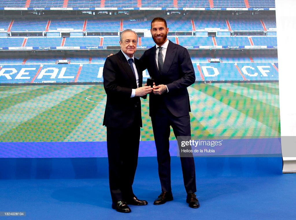 Real Madrid Tribute and Farewell to Sergio Ramos : News Photo