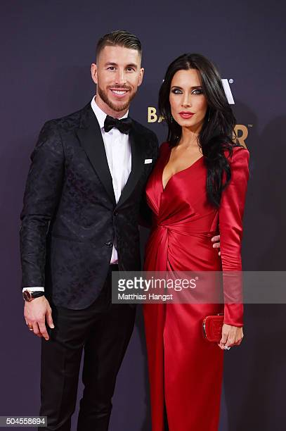 Sergio Ramos and Pilar Rubio attend the FIFA Ballon d'Or Gala 2015 at the Kongresshaus on January 11 2016 in Zurich Switzerland