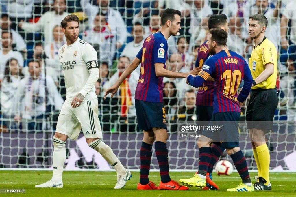Real Madrid CF v FC Barcelona - La Liga : ニュース写真