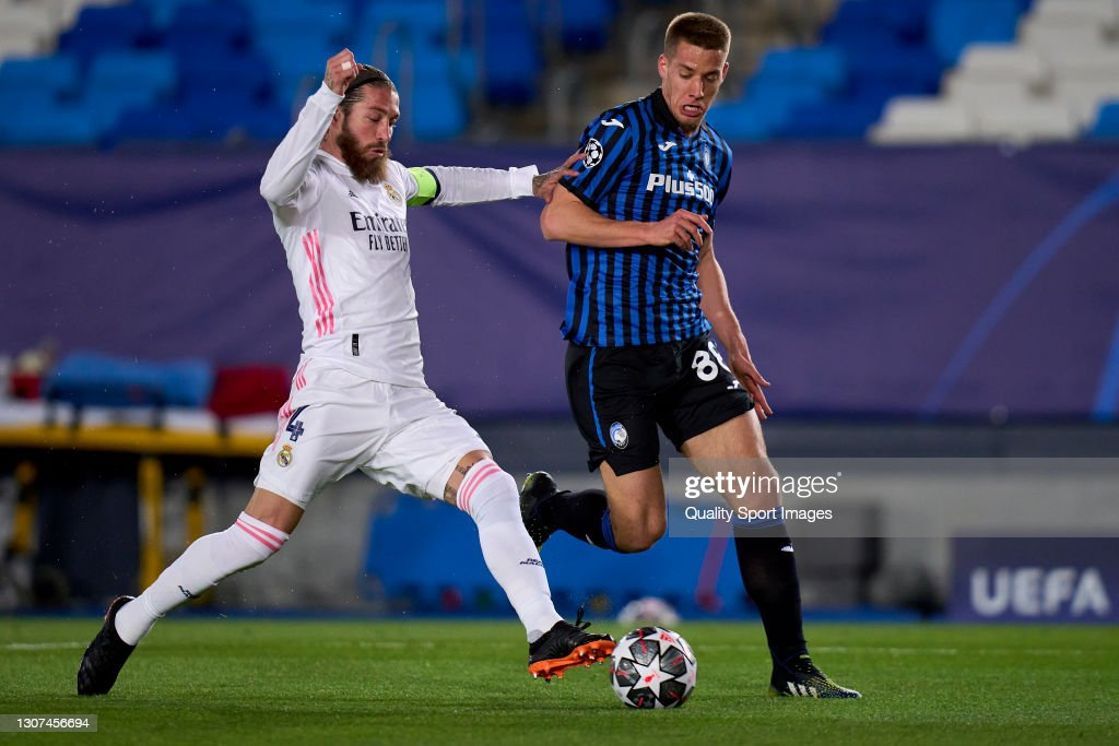 Real Madrid v Atalanta  - UEFA Champions League Round Of 16 Leg Two : ニュース写真