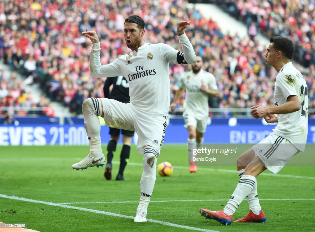 Club Atletico de Madrid v Real Madrid CF - La Liga : Foto jornalística