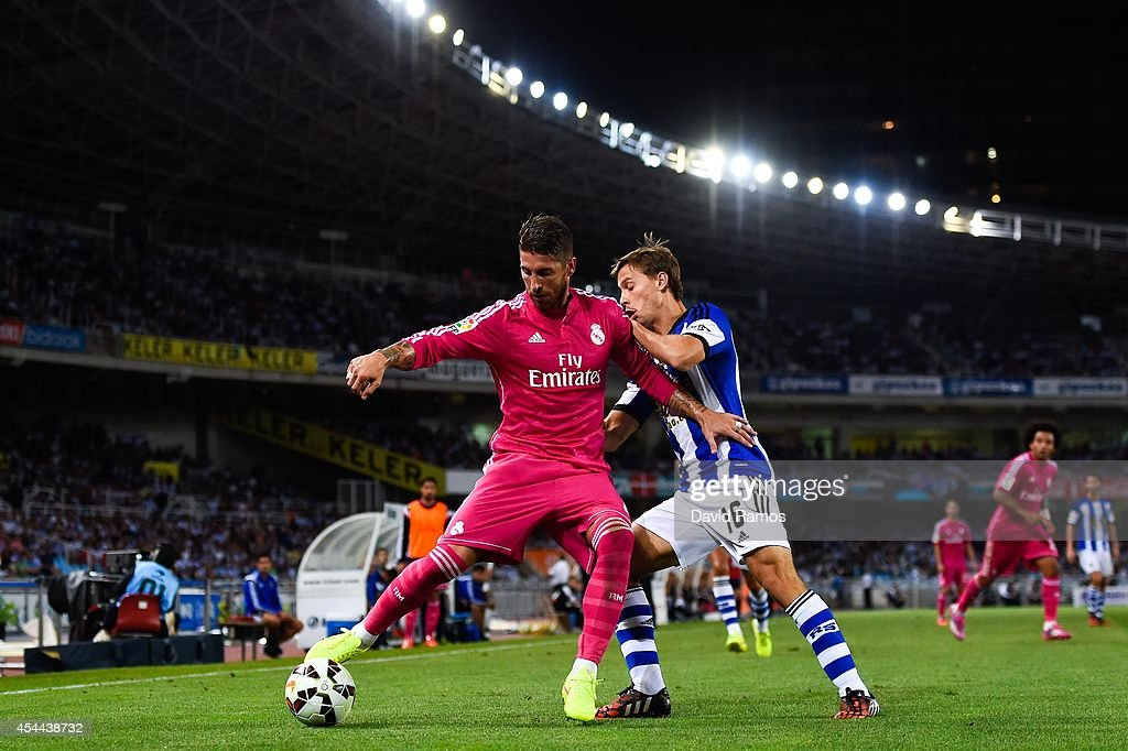 Real Sociedad de Futbol v Real Madrid CF - La Liga : News Photo