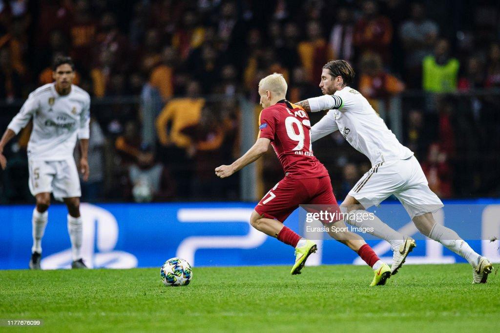 Galatasaray v Real Madrid: Group A - UEFA Champions League : News Photo