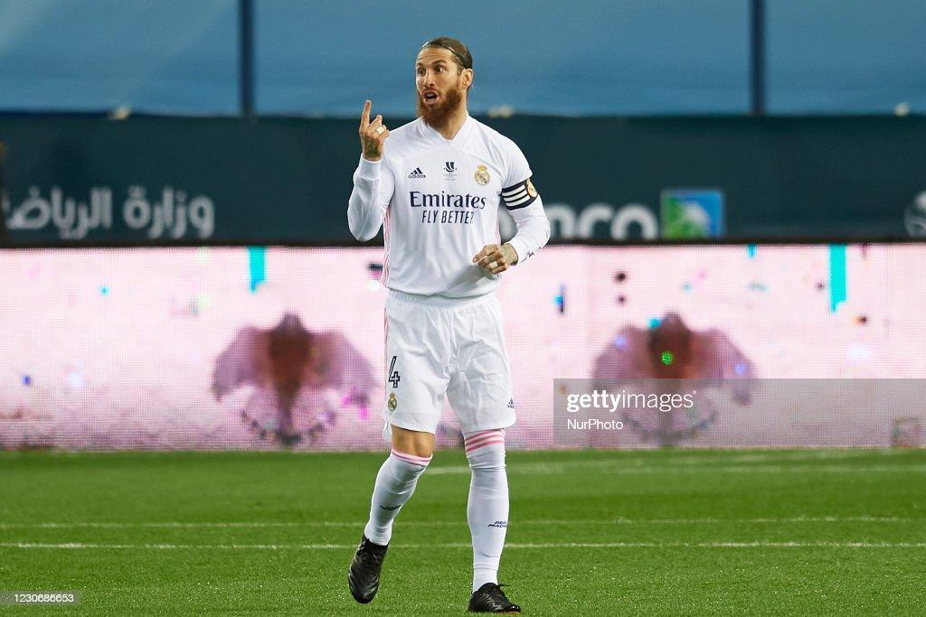 Real Madrid v Athletic Club - Supercopa de Espana Semi Final : News Photo