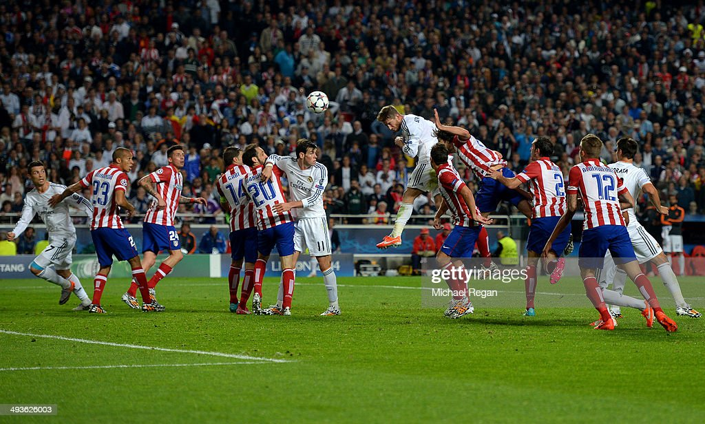 Real Madrid v Atletico de Madrid - UEFA Champions League Final : News Photo