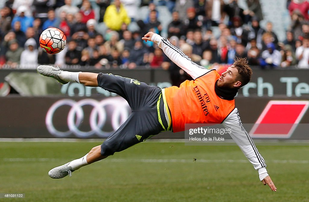 Real Madrid Training Session & Media Opportunity : News Photo