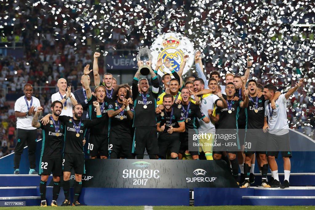 Real Madrid v Manchester United: UEFA Super Cup : News Photo