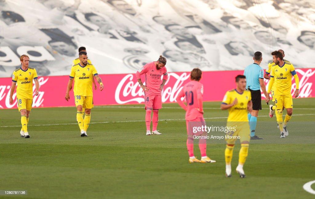 Real Madrid v Cadiz CF - La Liga Santander : News Photo