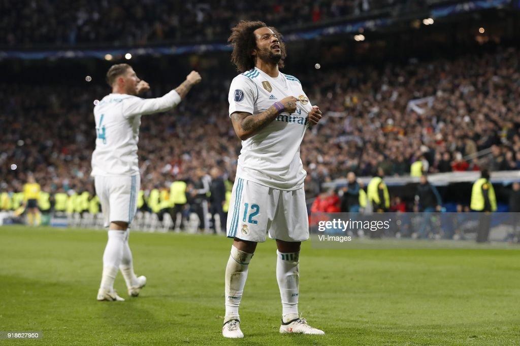 "UEFA Champions League""Real Madrid v Paris Saint-Germain"" : News Photo"