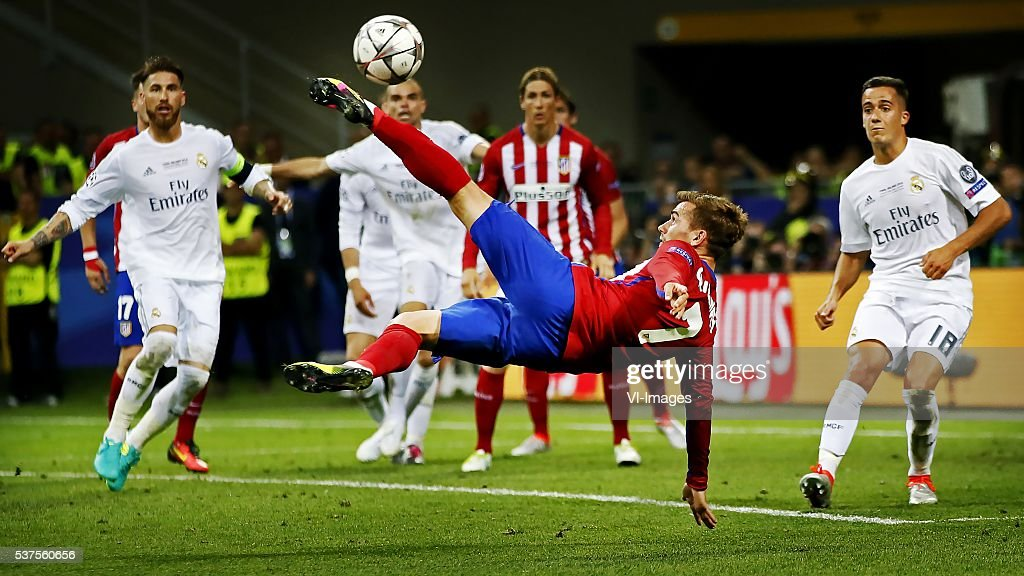 UEFA Champions League final - 'Real Madrid v Atletico Madrid' : News Photo