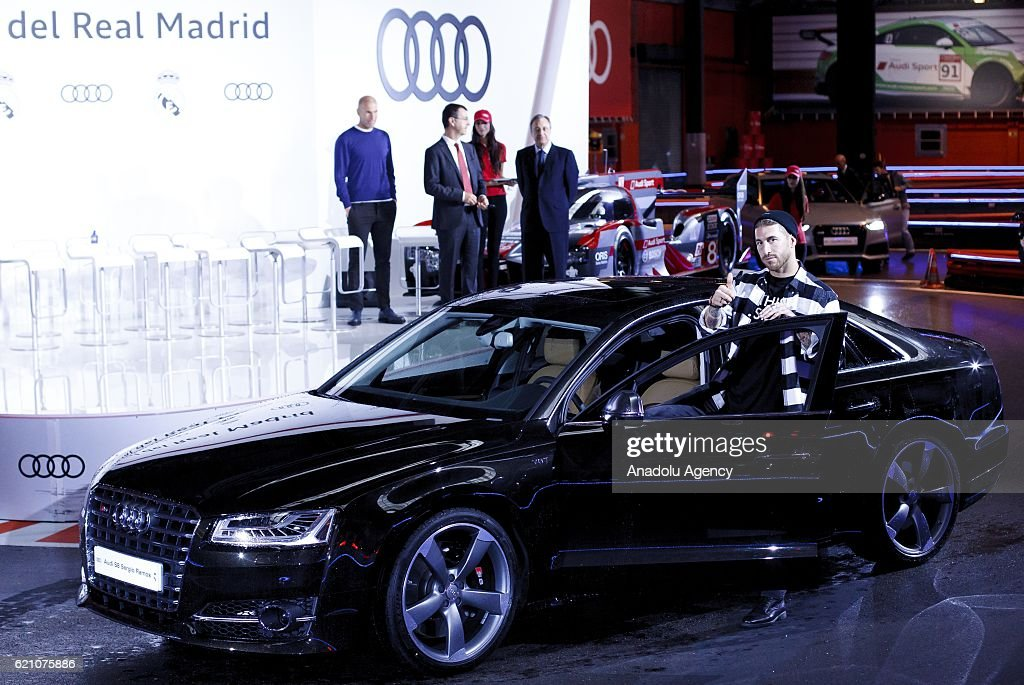 Real Madrid Players Receive Audi Cars Pictures Getty Images - Audi cars 2016