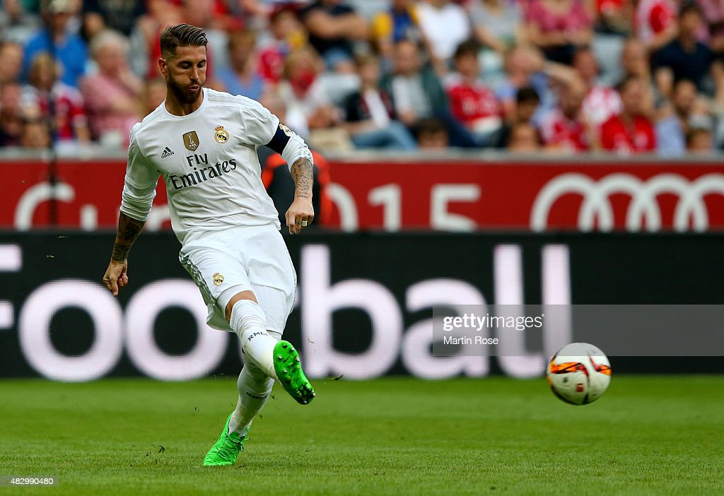 Real Madrid v Tottenham Hotspur - Audi Cup 2015 : News Photo
