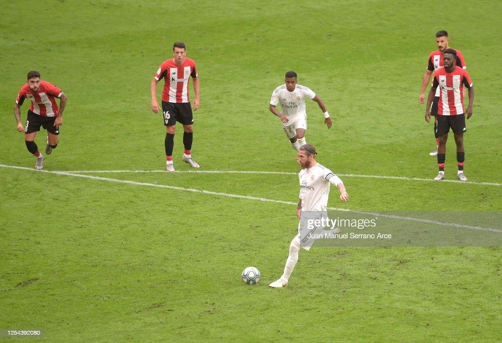 Athletic Club v Real Madrid CF  - La Liga : Foto di attualità