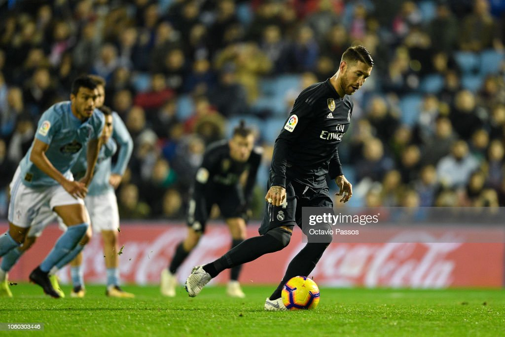 RC Celta de Vigo v Real Madrid CF - La Liga : News Photo