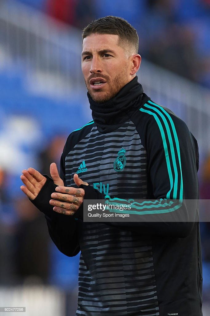 Leganes v Real Madrid - La Liga : ニュース写真
