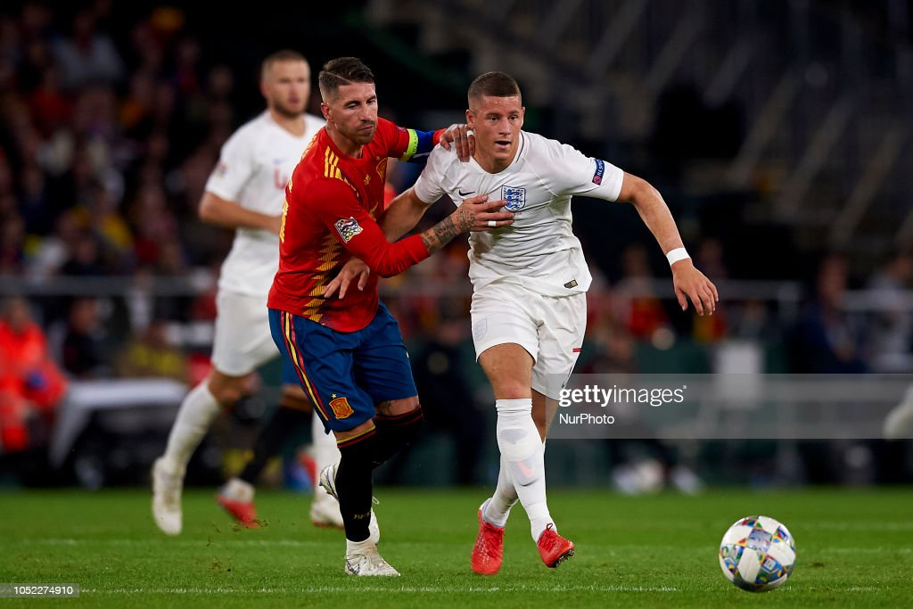 Spain v England - UEFA Nations League A : News Photo