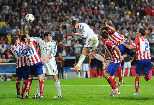 El minuto del gol de Sergio Ramos en Lisboa sale premiado en la ...