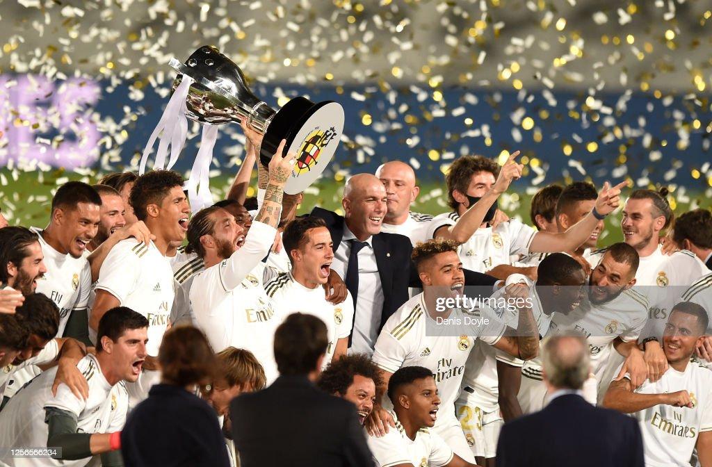 Real Madrid CF v Villarreal CF  - La Liga : Fotografia de notícias