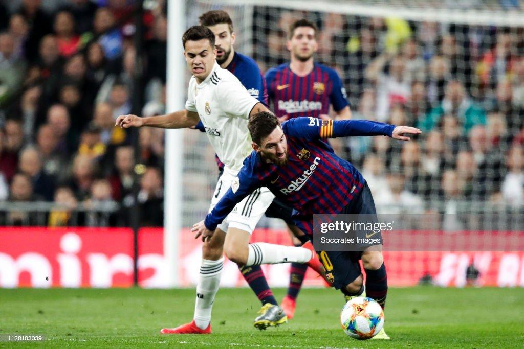 12c948e6cd0 Real Madrid v FC Barcelona - Spanish Copa del Rey   News Photo