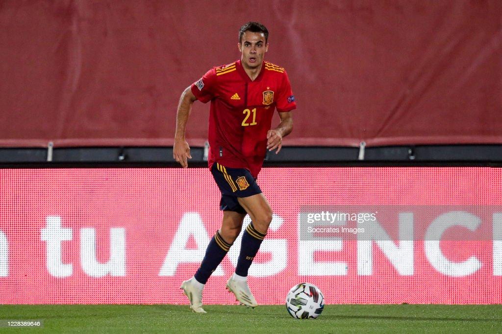 Spain  v Ukraine  -UEFA Nations league : News Photo