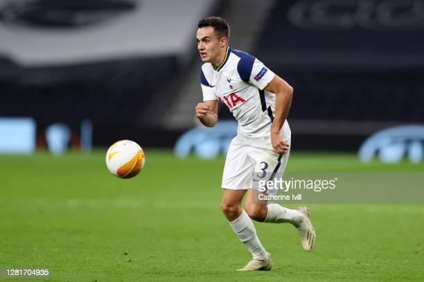 Sergio Reguilon of Tottenham Hotspur during the UEFA Europa League Group J stage match between Tottenham Hotspur and LASK at Tottenham Hotspur...