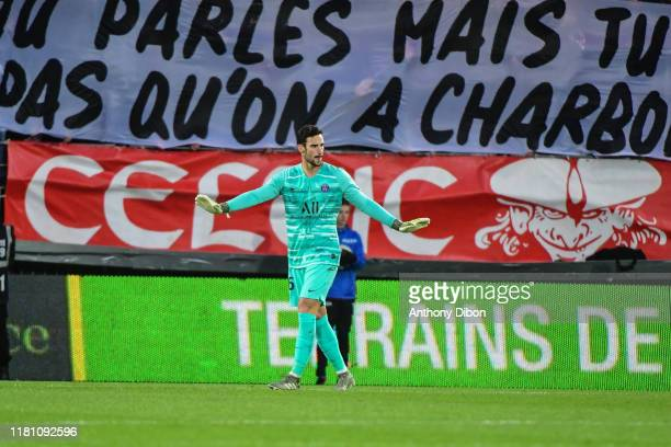 Sergio RICO of PSG during the Ligue 1 match between Brest and Paris Saint Germain at Stade FrancisLe Ble on November 9 2019 in Brest France