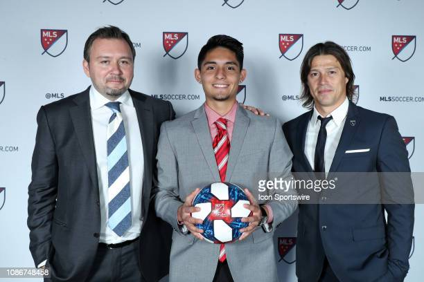 Sergio Rivas was taken with the 26th overall pick by the San Jose Earthquakes With general manager Jesse Fioranelli and head coach Matias Almeyda...